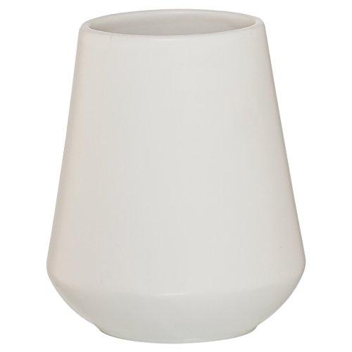 Sealskin Conical Gobelet, Porcelaine, Blanc, 9,5x11,1x9,5 cm