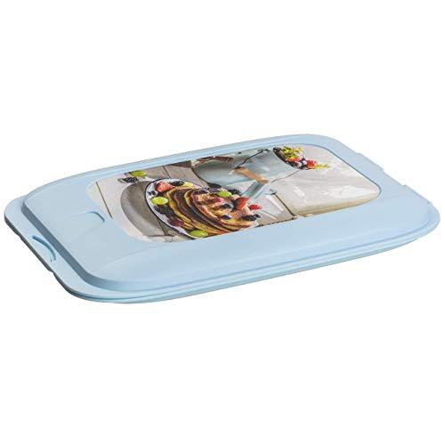 ENGELLAND - Caja de alimentos apilable de alta calidad con diseño, recipiente para salchichas, orden en el frigorífico.