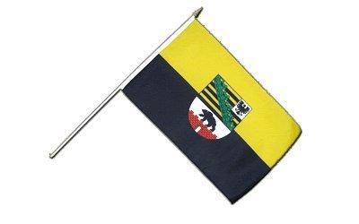 Stockflagge Deutschland Sachsen-Anhalt - 30 x 45 cm