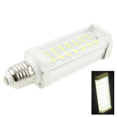 SGJFZD E27 11W Blanco 28 LED 5630 SMD LED LED Bombilla de Enchufe Horizontal Bombilla de luz AC 85-265V (SKU : S-LED-6161W)