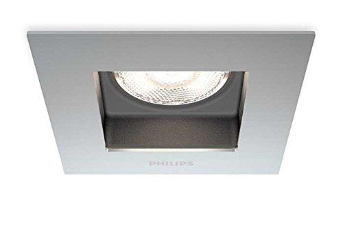 Philips Lighting Porrima inbouw, metaal, 4,5 W, geborsteld roestvrij staal