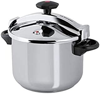 Royalford RF9650 Stainless Steel Pressure Cooker - Lightweight & Home Kitchen Pressure Cooker with Lid, Multi-Safety Devic...