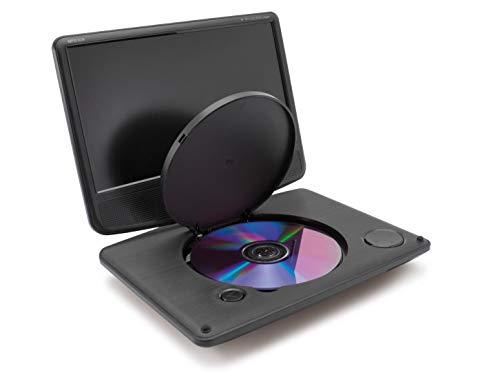 Caliber MPD109 Convertible 9  640 x 234Pixeles Negro Reproductor de DVD bluray portátiles - Reproductor portátil (Convertible, Negro, CD de Audio, Vídeo de CD, VCD, CD,DVD, NTSC,PAL, 22,9 cm (9 ))