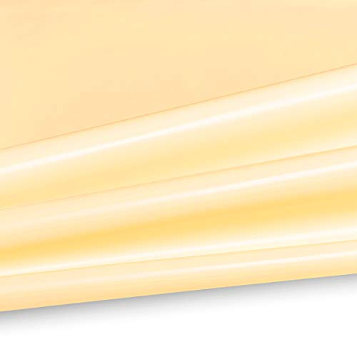 Serge Ferrari Flexlight Classic Precontraint 602 B1 PVC zeil 650 g/m2 kleur wit 8100 breedte 250 cm hoge weer- en UV-bestendigheid 267 cm (B) champagne