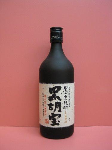 八代不知火蔵『黒ごま焼酎 黒胡宝』