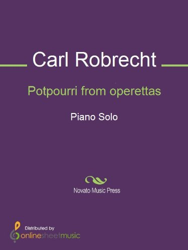 Potpourri from operettas - Piano (English Edition)