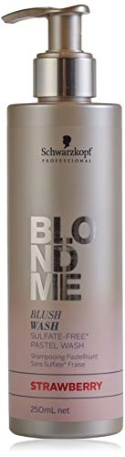SCHWARZKOPF BlondMe Blush Wash, Strawberry, 250 ml