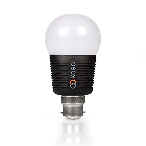 Veho VKB-003-B22 - Lámpara LED (7,5 W, B22, A+, 600 lm, 15000 h, Multi)