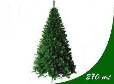 Bagno Italia Albero di Natale Artificiale 270 cm Pino Verde con 2000 Rami Realistico I