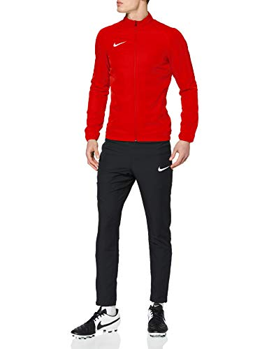 Nike Academy18 Tracksuit, Tuta Uomo, University Black/Gym Red/(White), M