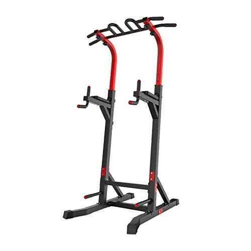 Best Review Of ZAIHW Heavy Duty Power Tower,Dip Stands for Home Gym Strength Training Fitness Adjust...