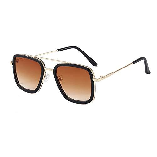 Lucky DuDu Gafas de Sol Deportivas al Aire Libre polarizadas Anti deslumbramiento UV400 Protección Pesca Eyewear Gafas de Sol Ultraligero (Color : 04)