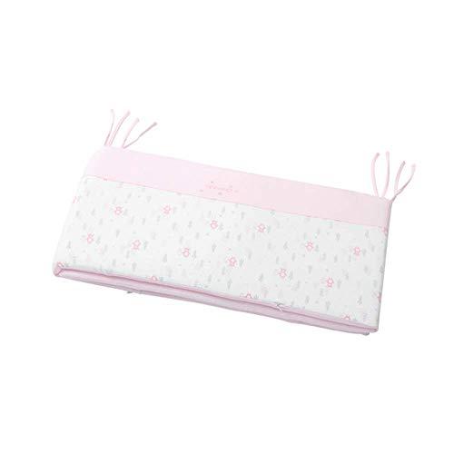 Enveloppe de garde de dentition de protecteur de couverture de couverture de rail de lit de bébé lavable à la machine pour de longs rails de berceau avant, polyester doux 100% microfibre soyeux