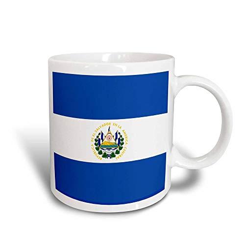 485 Bubble Tea Becher, Oma Opa Kaffeetassen Luxuriös Teetasse Vater Kaffeebecher,Flagge Von EL Salvador Tasse 330Ml Blau