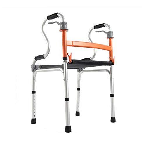 Andadores estándares y ligeros CaminadorAndadorparaandadorbastidor For Caminar Marco For Caminar Plegable De Aleación De Aluminio For Ancianos Discapacitados Con Marco For Caminar For Rehabilitación D