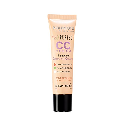 Bourjois 123 Perfect CC Cream Base de maquillaje, Tono 33 Rose Beige - 43 gr