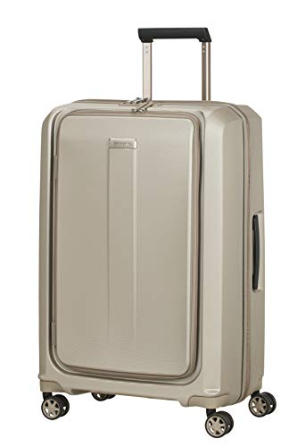 Samsonite Prodigy - Spinner Hand Luggage 69 Centimeters 85 Grey (Ivory Gold)