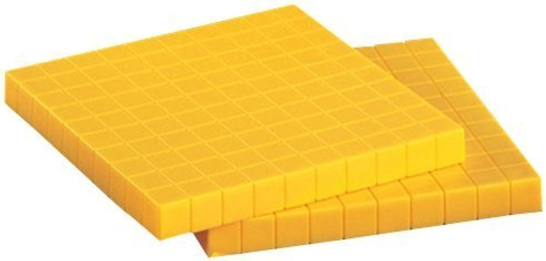 Plastic Base Ten Flats, set of 10 (1999-01-12)