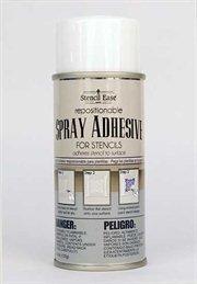 Stencil Ease Repositionable Stencil Spray Adhesive - 4.4 oz can