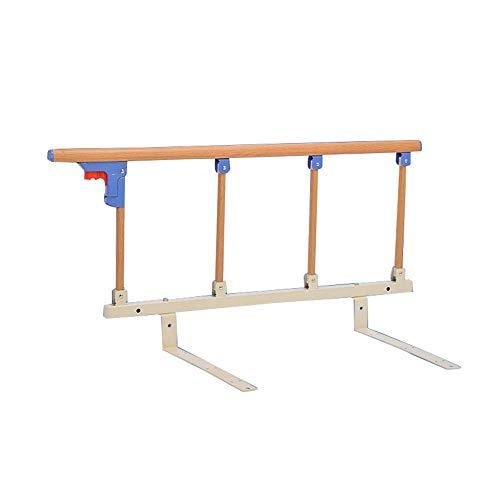 NYDZDM Metalen handvat Handicap Bed Railing, Opvouwbare Bed Rail Veiligheid Bed Guard Ziekenhuis Grip Bumper Bar
