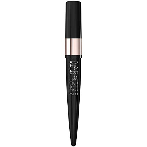 L Oréal Paris MakeUp Kajal Matita Occhi Paradise, Waterproof, Colore Intenso a Lunga Tenuta, Black, Confezione da 1
