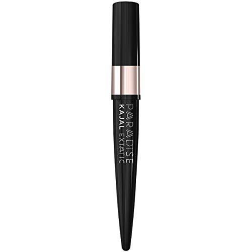 L'Oréal Paris Paradise Extatic Kajal Matita Occhi Eyeliner Waterproof dal Colore Intenso a Lunga Tenuta, 01 Black