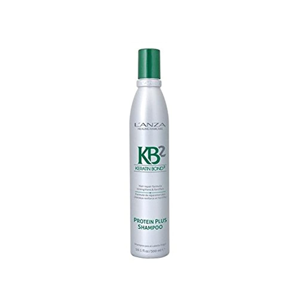 ナンセンス達成可能残忍なL'Anza Kb2 Protein Plus Shampoo (300ml) (Pack of 6) - アンザ2タンパク質プラスシャンプー(300ミリリットル) x6 [並行輸入品]