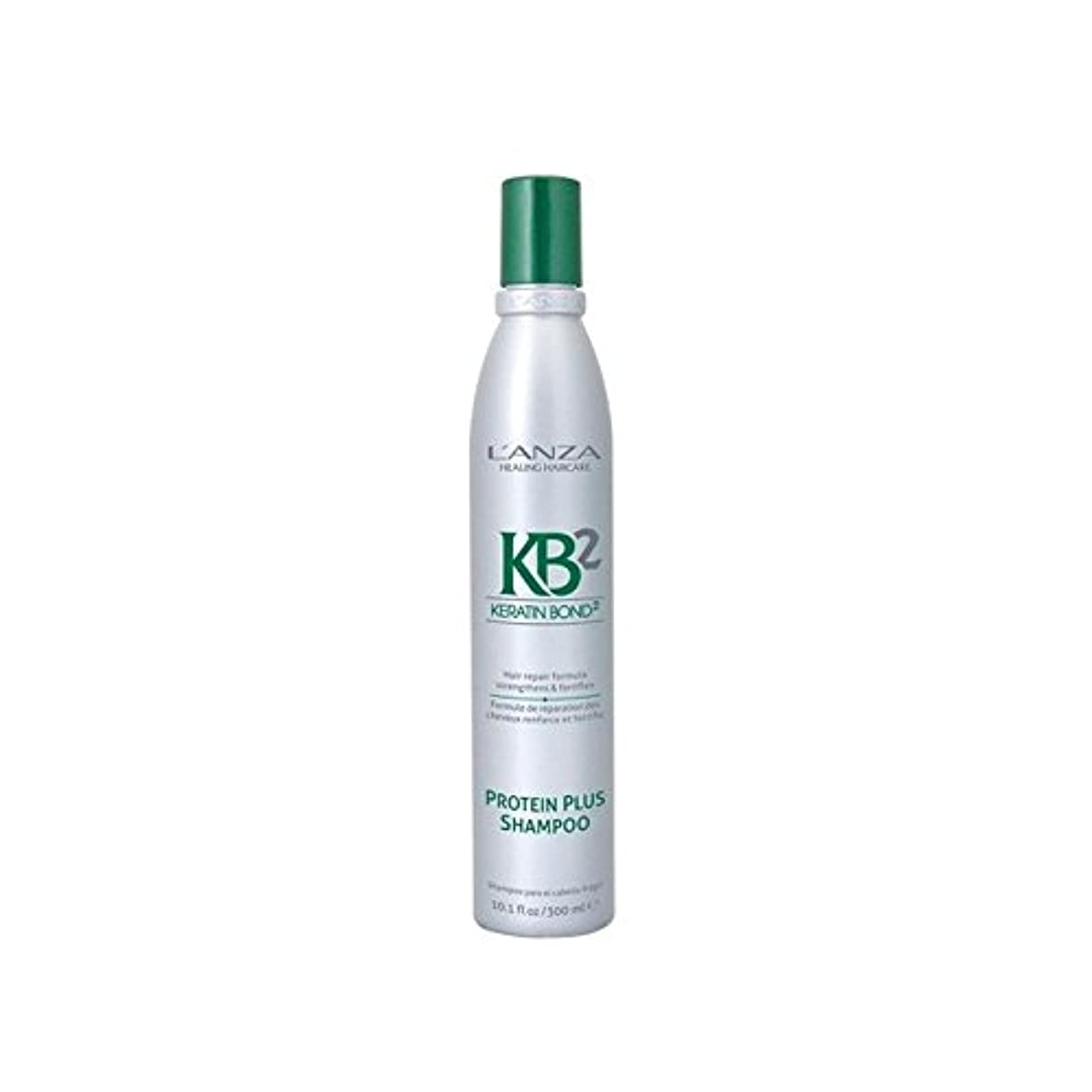 L'Anza Kb2 Protein Plus Shampoo (300ml) (Pack of 6) - アンザ2タンパク質プラスシャンプー(300ミリリットル) x6 [並行輸入品]