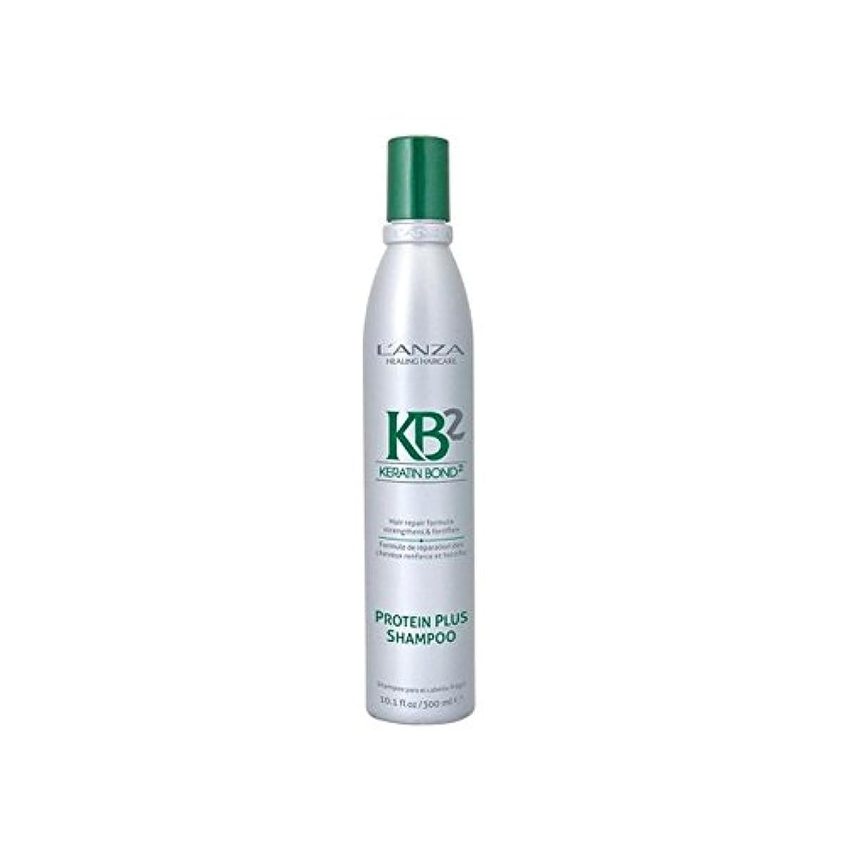 伝統的見習い十分ですL'Anza Kb2 Protein Plus Shampoo (300ml) - アンザ2タンパク質プラスシャンプー(300ミリリットル) [並行輸入品]