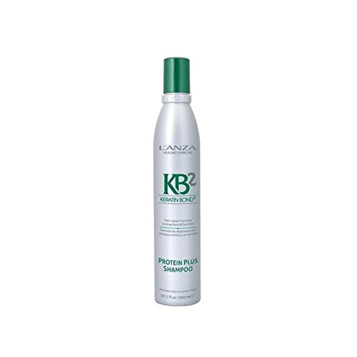 共同選択パースブラックボロウ知覚するアンザ2タンパク質プラスシャンプー(300ミリリットル) x4 - L'Anza Kb2 Protein Plus Shampoo (300ml) (Pack of 4) [並行輸入品]