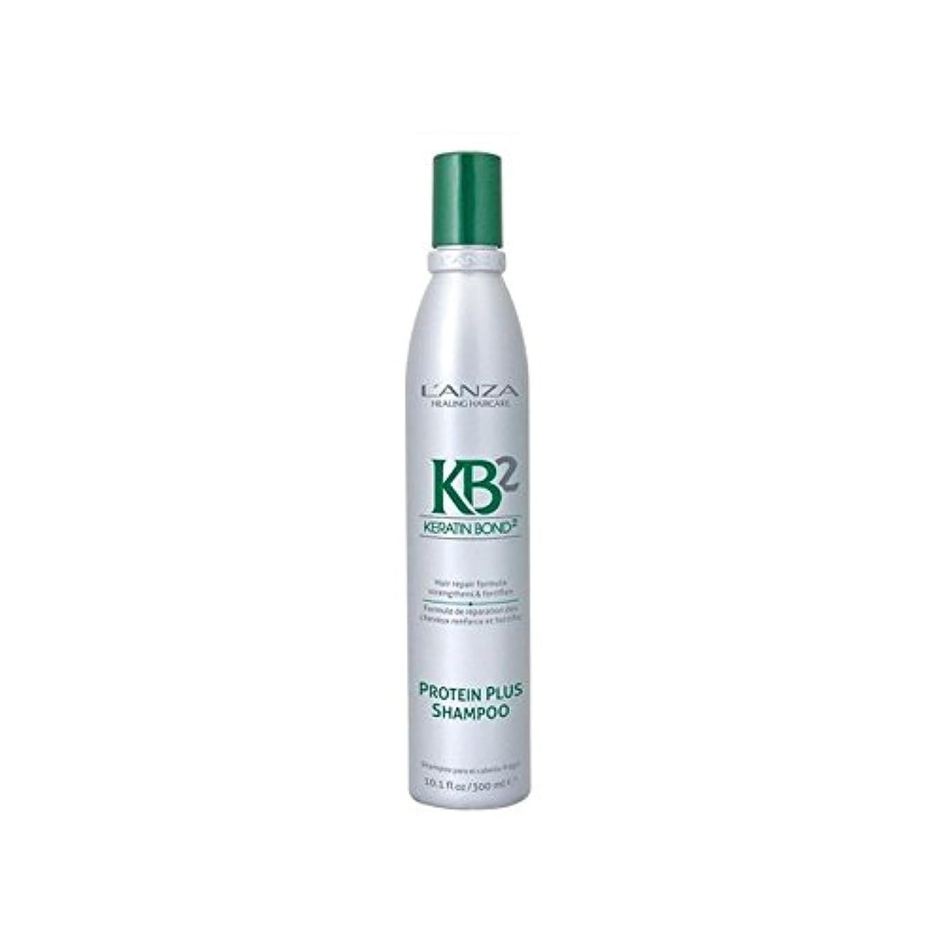 天文学希少性本当のことを言うとL'Anza Kb2 Protein Plus Shampoo (300ml) (Pack of 6) - アンザ2タンパク質プラスシャンプー(300ミリリットル) x6 [並行輸入品]
