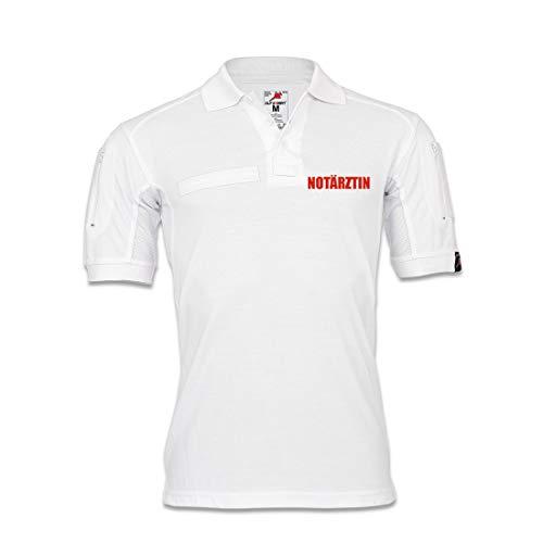 Copytec Tactical Polo Notärztin Doktorin Ärztin Krankenhaus Bekleidung Hemd KRKW #30724, Größe:S, Farbe:Weiß