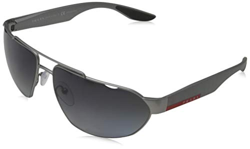 Ray-Ban 0PS 56US zonnebril, bruin (donkergrijs metaal rubber), 66.0
