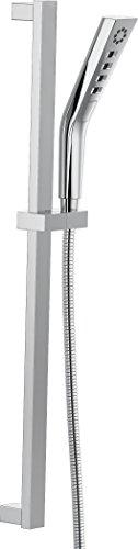 Delta Faucet 51799 H2Okinetic 3-Setting Slide bar Hand Shower, Chrome