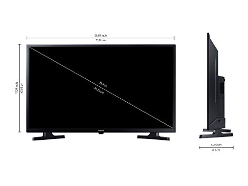 Samsung 80 cm (32 Inches) Wondertainment Series HD Ready LED Smart TV UA32T4340AKXXL (Glossy Black) (2020 Model)