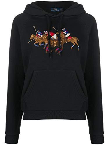 Ralph Lauren Luxury Fashion Damen 211792456001 Schwarz Baumwolle Sweatshirt   Frühling Sommer 20