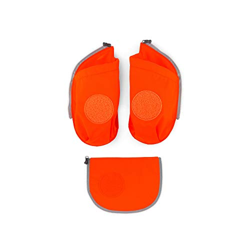 ergobag cubo Seitentaschen Sicherheits-Set Orange
