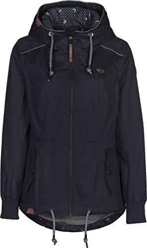 Ragwear Jacke Damen DANKA 2011-60024 Dunkelblau Navy 2028, Größe:M