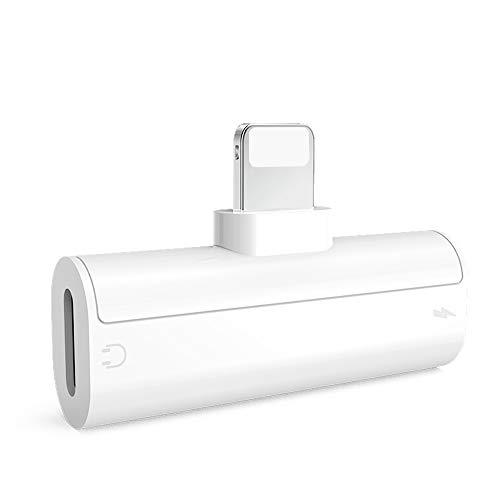 iPhone イヤホン 変換 二股 IOS13対応 ライトニング イヤホン 変換 充電 音楽 lightning イヤホン アダプタiPhone SE 2/11Pro Max/11Pro/11/XS MAX/XS/XR/X/8/7に適用