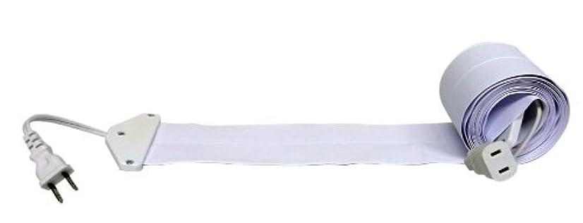 破裂調和のとれたアーティスト驚くほど薄い延長コード フラットコード 白 3m