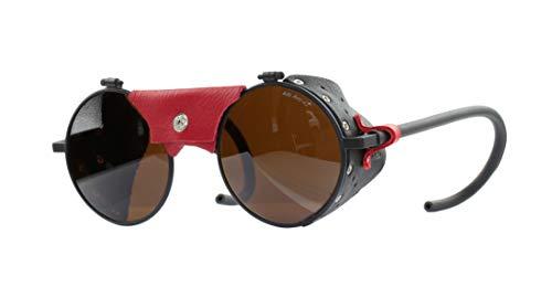 Julbo Vermont Gafas, negro/rojo, M para Hombre