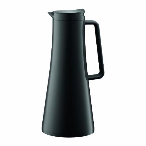 Bodum BISTRO Thermoskanne (Isoliert, Knopfdruckmechanismus, 1,1 liters) schwarz