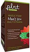 Fermented Whole Food Men's Multivitamin for 50+ (120 Vegetarian Capsules)
