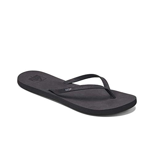 Reef Women's Bliss Nights Sandal, Black, 6 M US