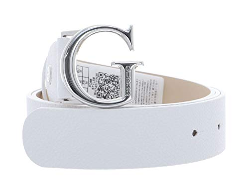 GUESS Cintura in effetto spalmato. Metalleria color oro. Chiusura logata a incastro. Altezza cintura: 3,5 cm.