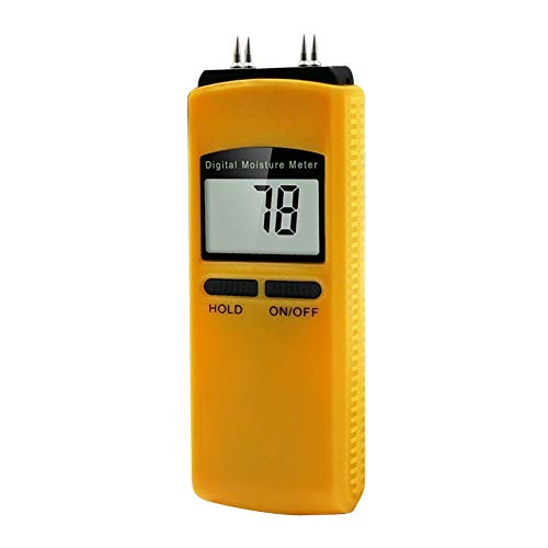 Great Features Of MJIKOO Paper Wood Moisture Meter High Accuracy Tester Humidity Digital Display Wal...