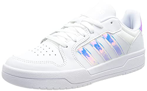 adidas ENTRAP, Zapatillas de Baloncesto Mujer, FTWBLA/FTWBLA/FTWBLA, 41 1/3 EU