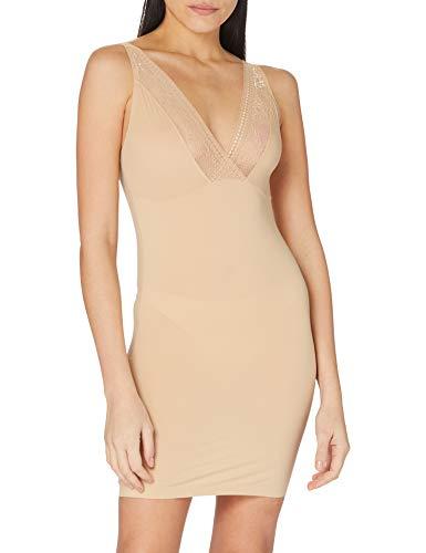 Susa Damen Shapewear Unterkleid 5536, Einfarbig, Gr. 36 (Herstellergröße: S), Braun (toffee 123)