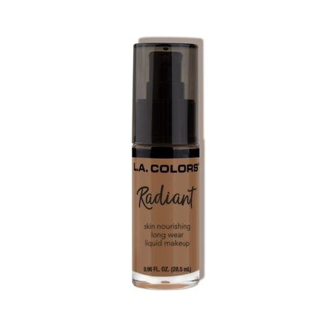 実現可能性実行する中央(6 Pack) L.A. COLORS Radiant Liquid Makeup - Mocha (並行輸入品)