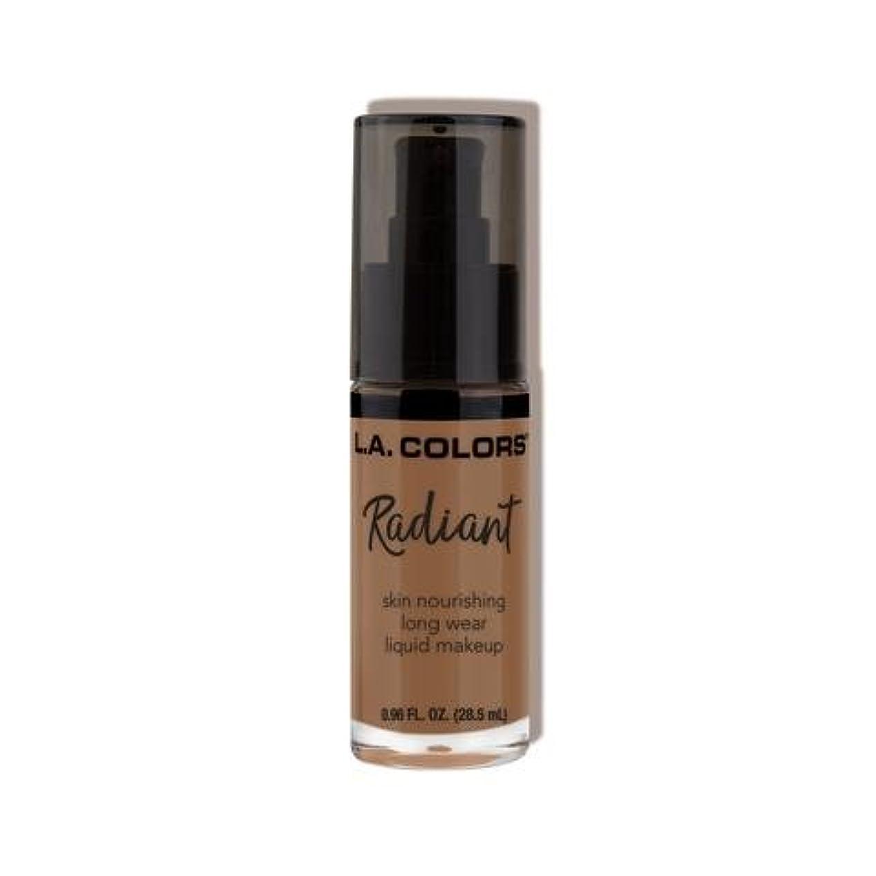 スコットランド人悪意のある成功(3 Pack) L.A. COLORS Radiant Liquid Makeup - Mocha (並行輸入品)